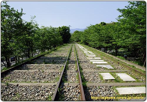 インクライン(傾斜鉄道)跡